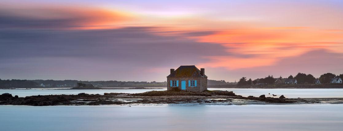 7 maisons de rêve en photo sur des îles en Bretagne