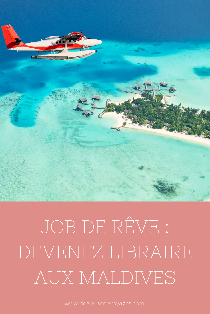 job de r u00cave   libraire aux maldives