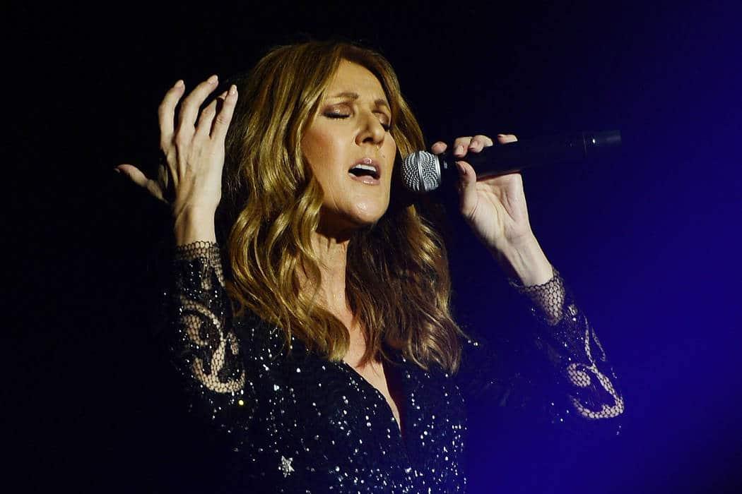 Céline Dion en concert à Paris