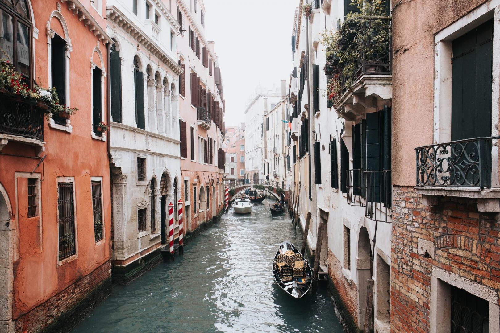 Saint-Valentin romantique à Venise