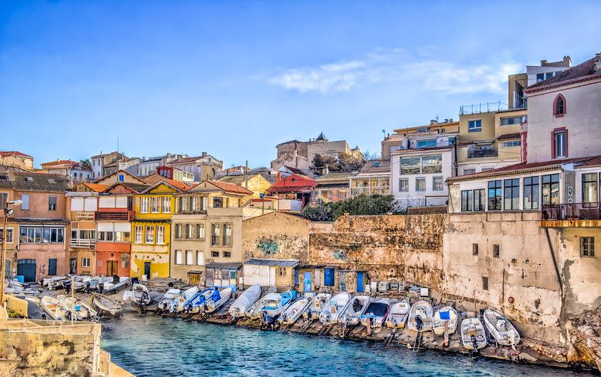 Villa de rêve à Malmousque, le petit port authentique de Marseille