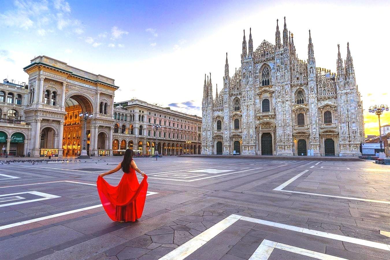 On s'envole direction Milan, la capitale de la mode