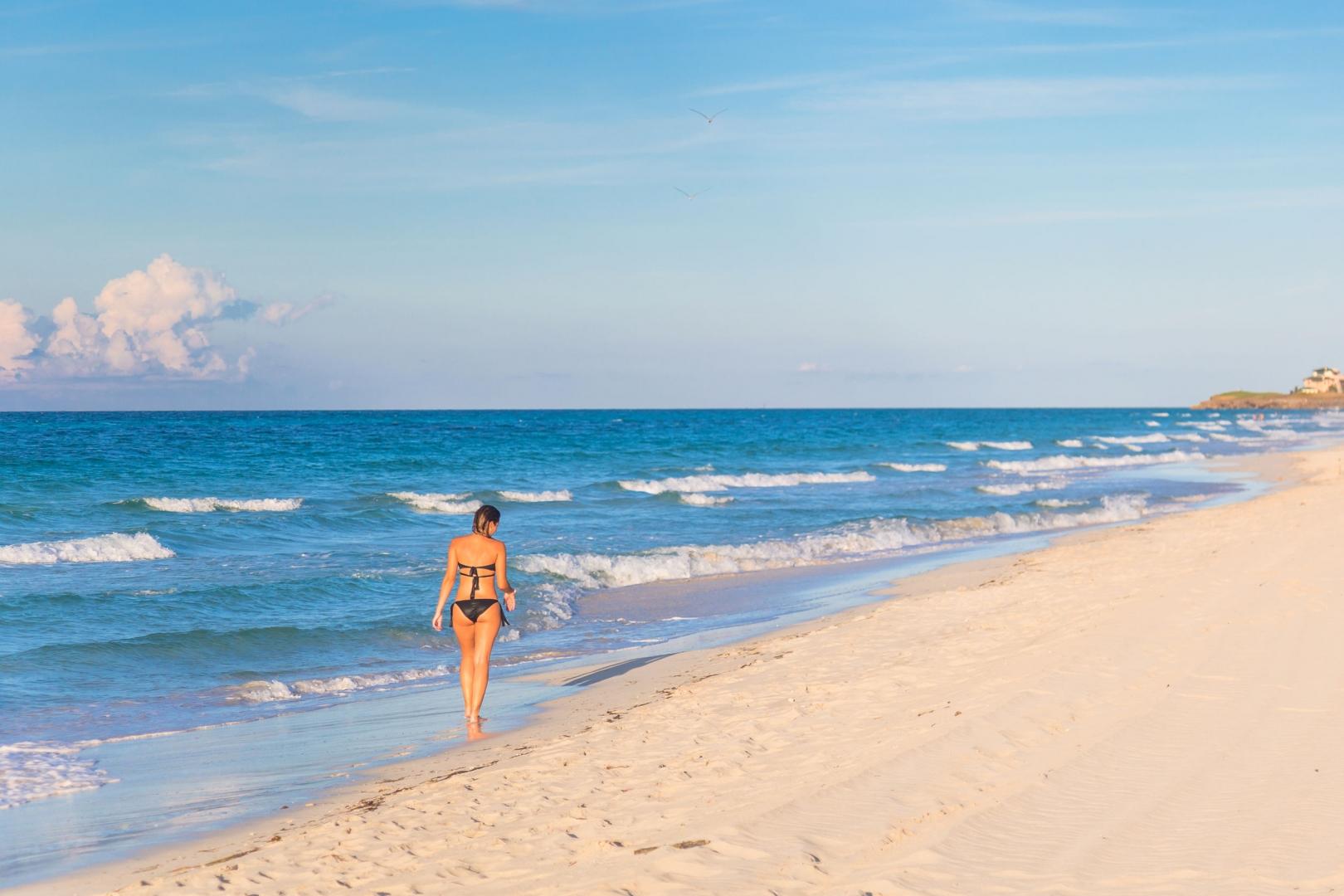 Sur les plages de Varadero
